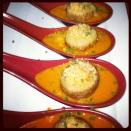 Tomato Soup Dumplings
