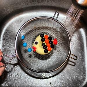 Fish Donut in Sink