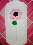 Flower Donut Lollipop