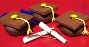 Graduation Cap Donuts